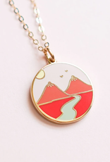 Mountain Boob Necklace