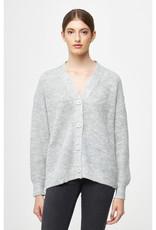 Slouchy V-Neck Cardigan Sweater