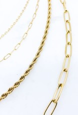 Four Layer Chain Necklace