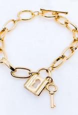 Lock & Key Bracelet