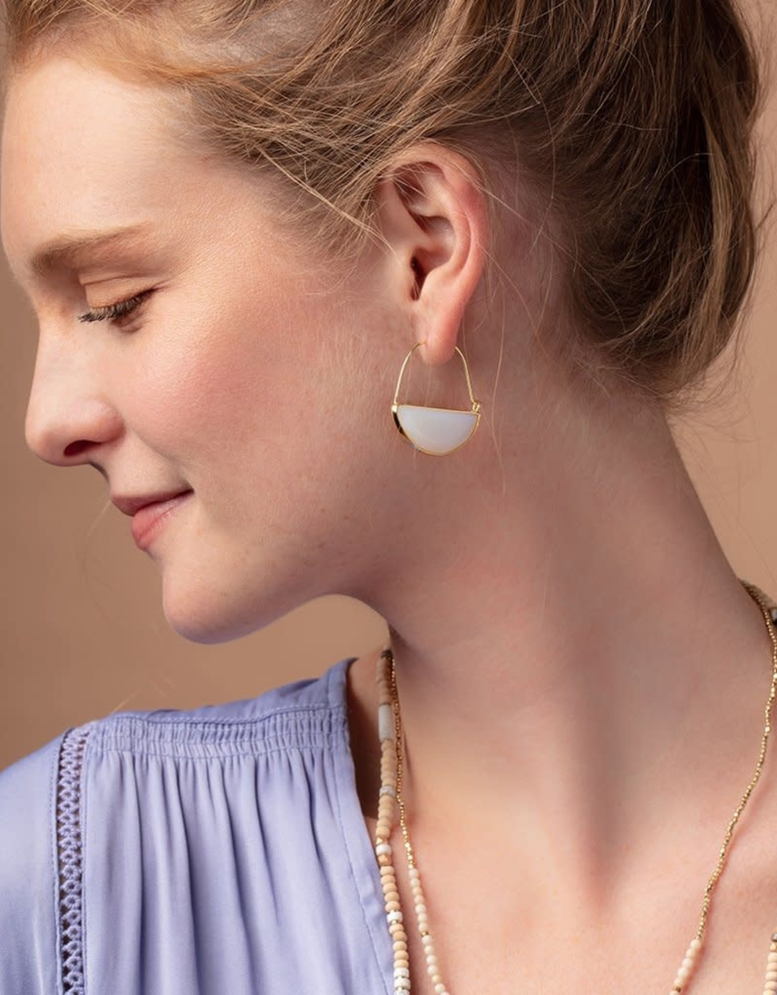 Scout Prism Hoops - Opalite/Gold