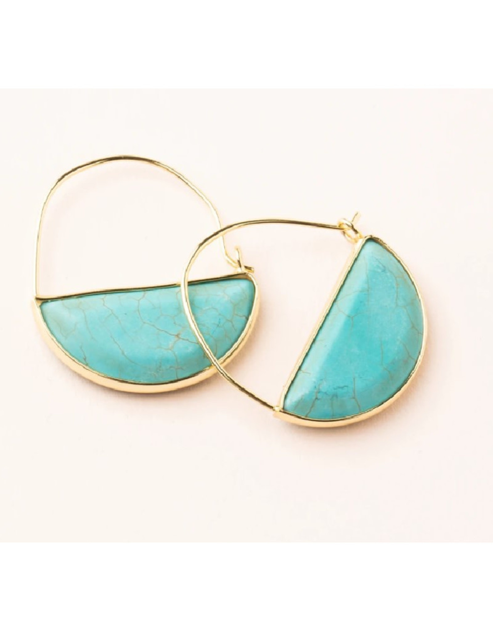 Scout Prism Hoops Turquoise / Gold