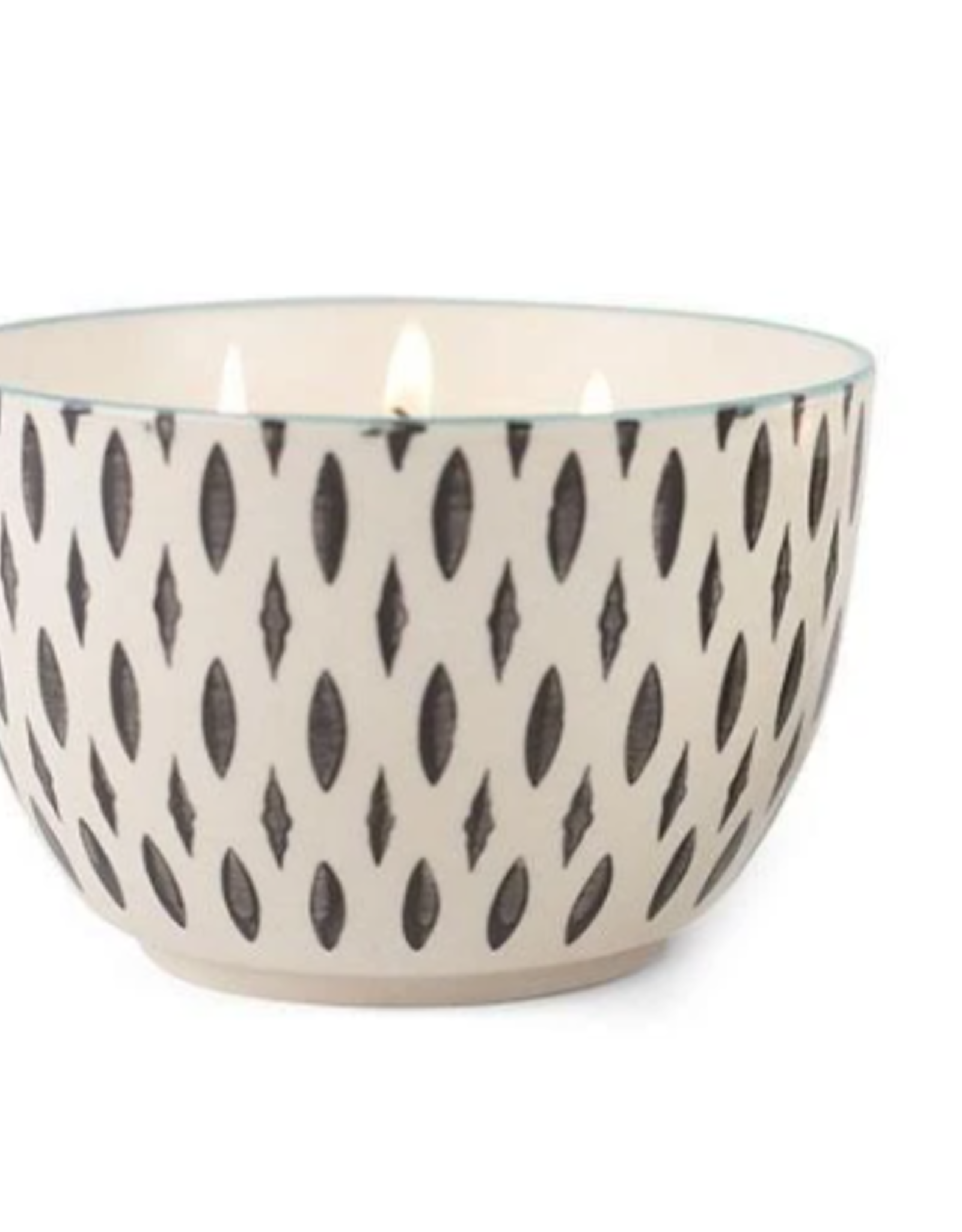 Earl Grey & Lavender Small Painted Bowl Candle - 7 oz.