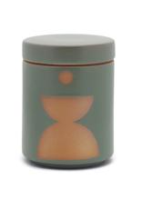 Green Ceramic Candle w/ Lid - Spanish Moss 12 oz.