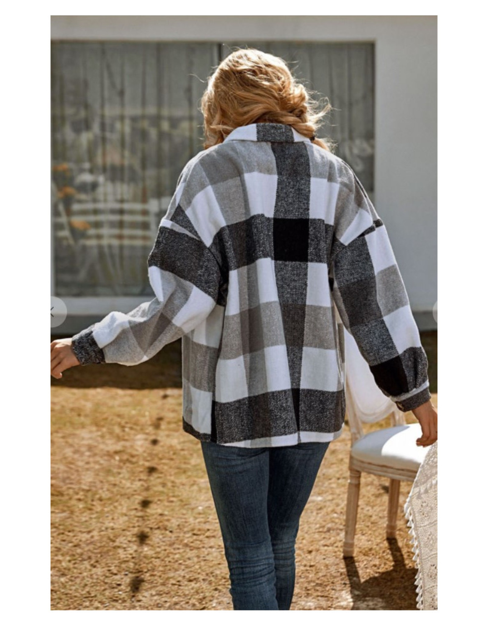 Soft Flannel Jacket