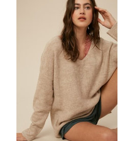 Soft Touch Two Tone Sweater