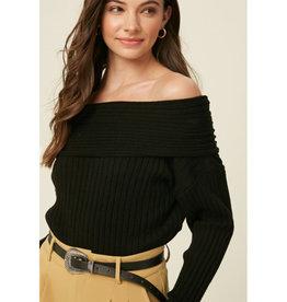 Off the Shoulder Pullover