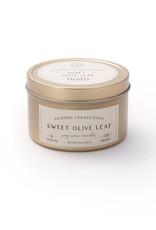 Firefly Classic Candle Tin - Sweet Olive Leaf 6 oz.