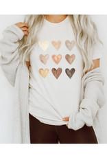 Nine Heart Tee