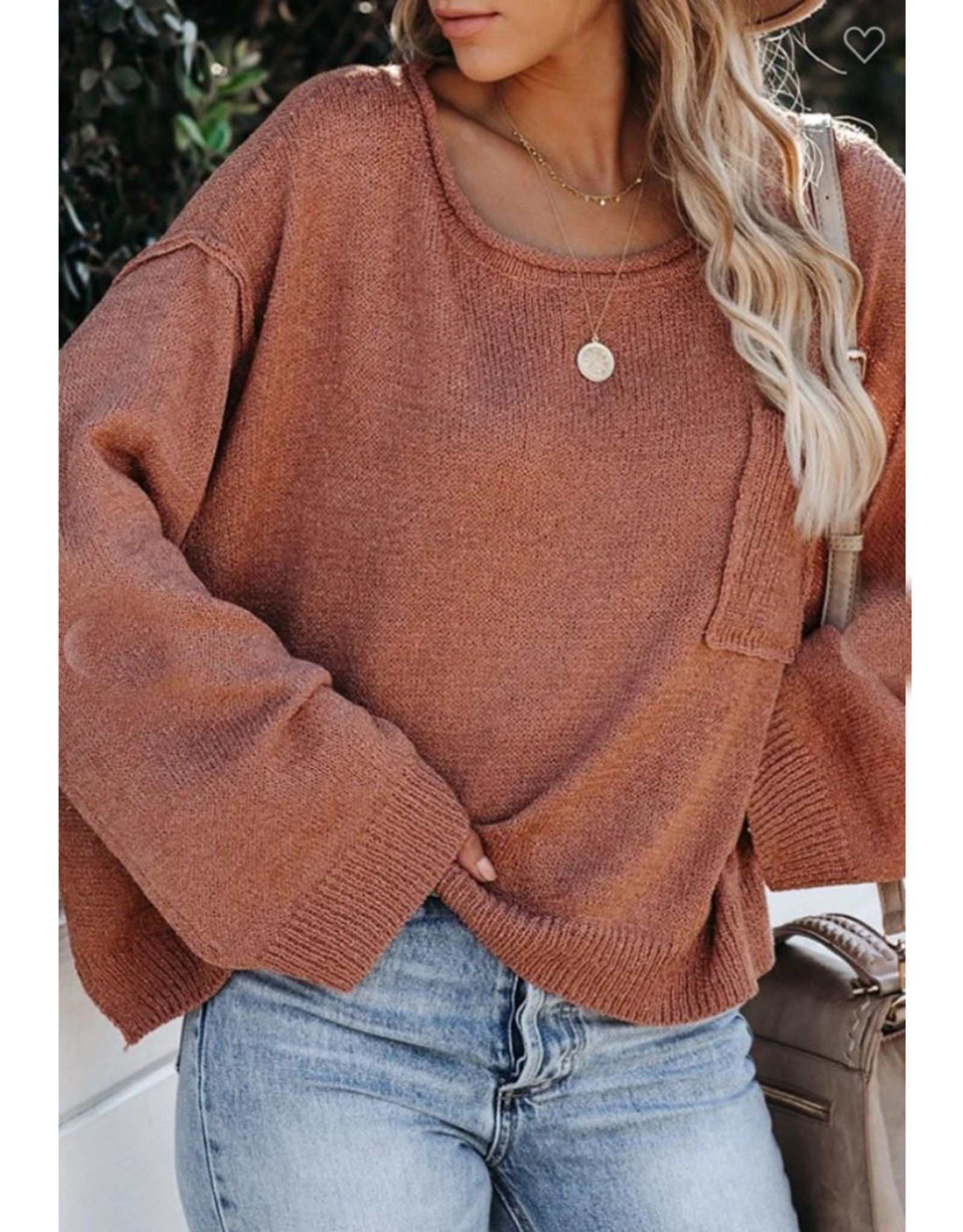 Weekend Cropped Sweater