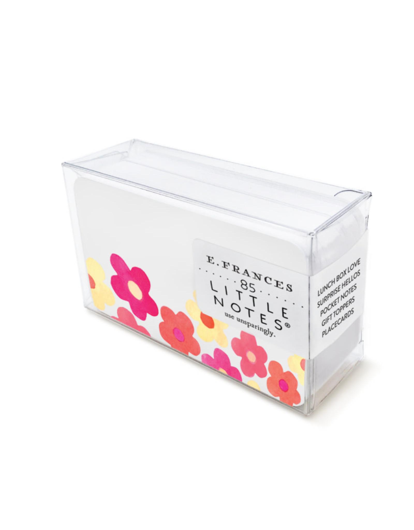 """Retro Flowers"" Little Notes"
