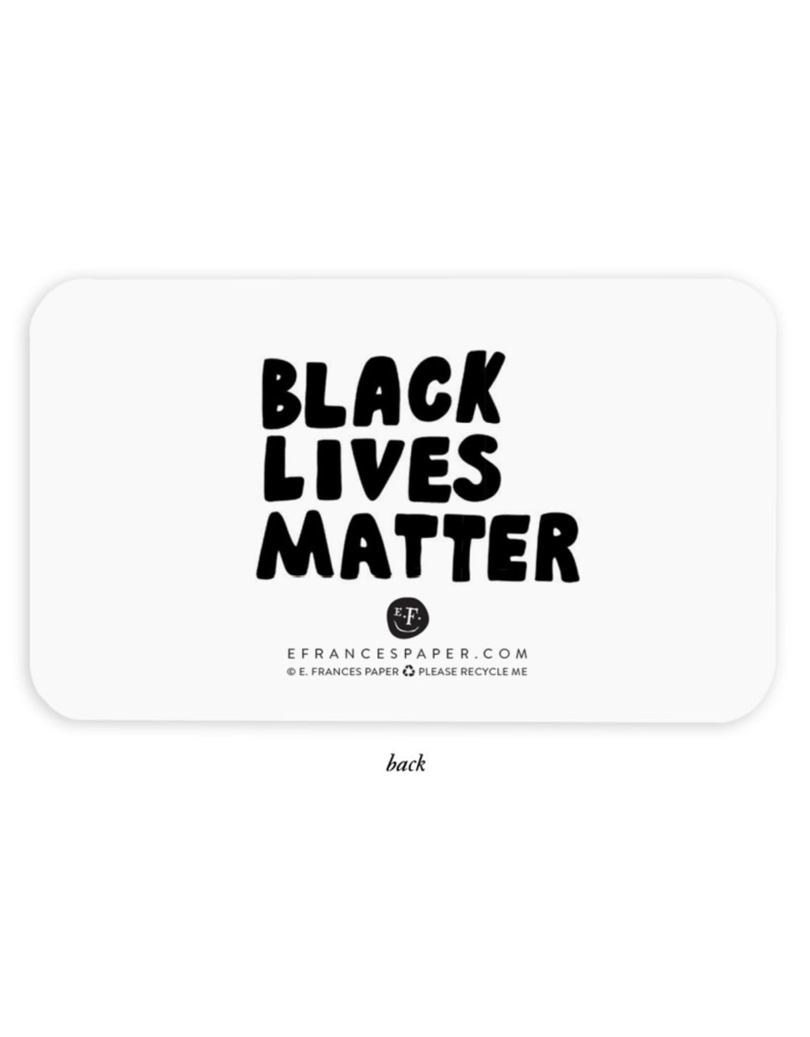 """Black Lives Matter"" Little Notes"