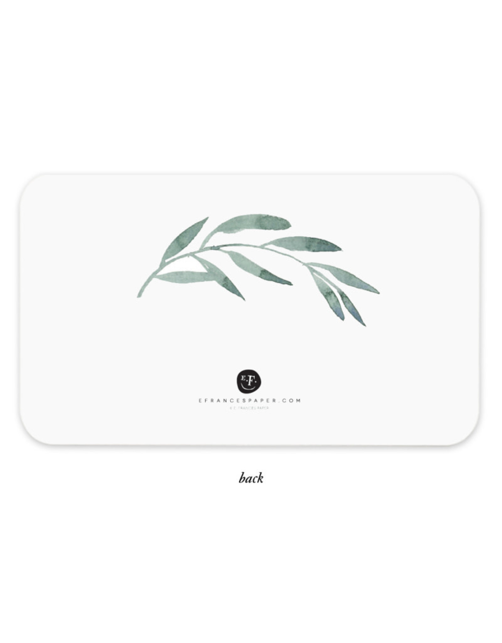 """Olive Branches"" Little Notes"