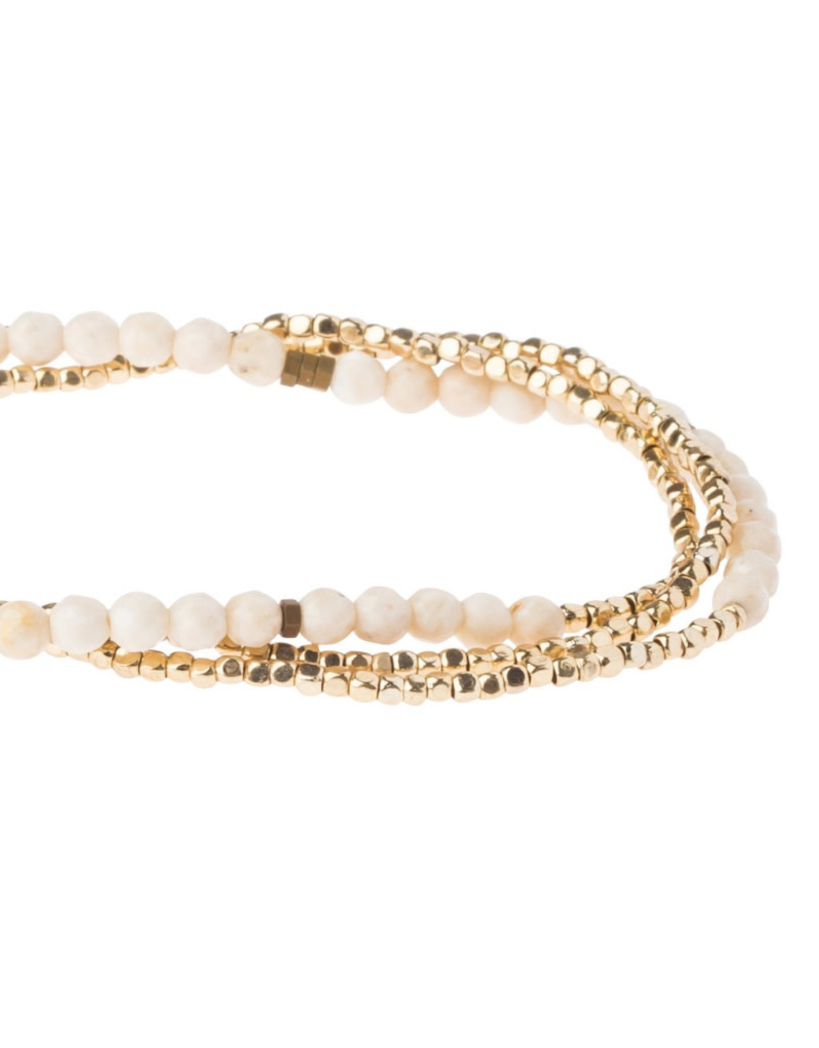 Scout Delicate Wrap  - White Fossil
