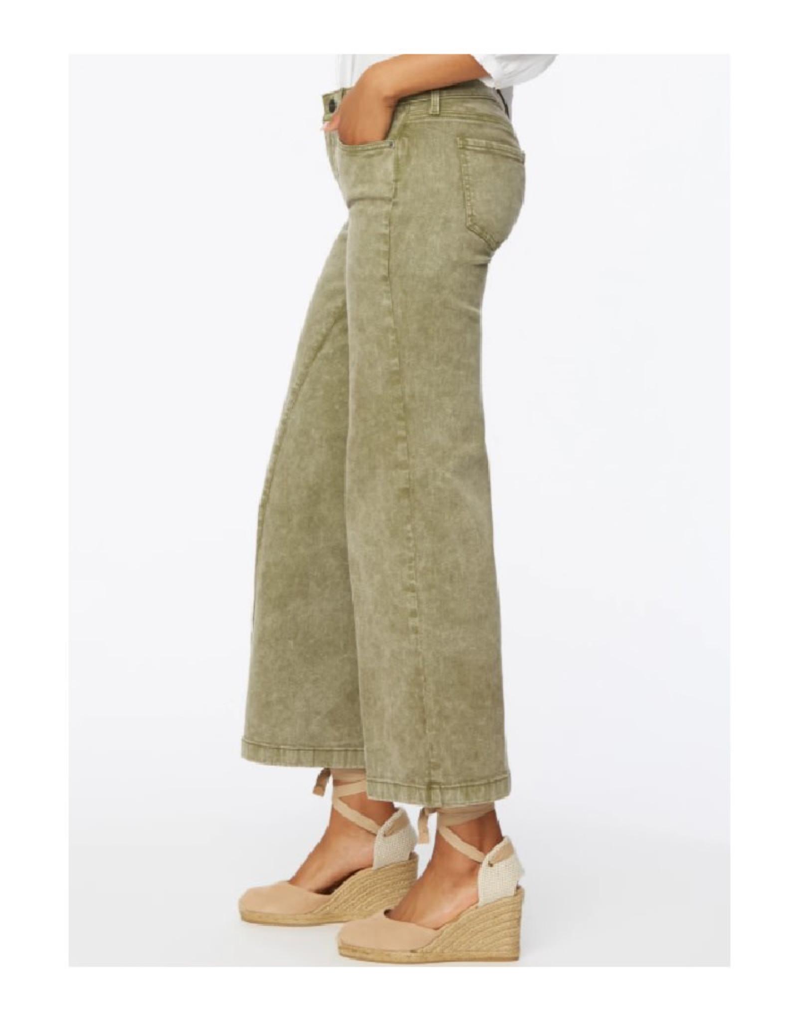 Teresa Wide Leg Ankle Pant