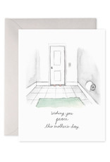 """Bathroom Peace"" Mother's Day Card"