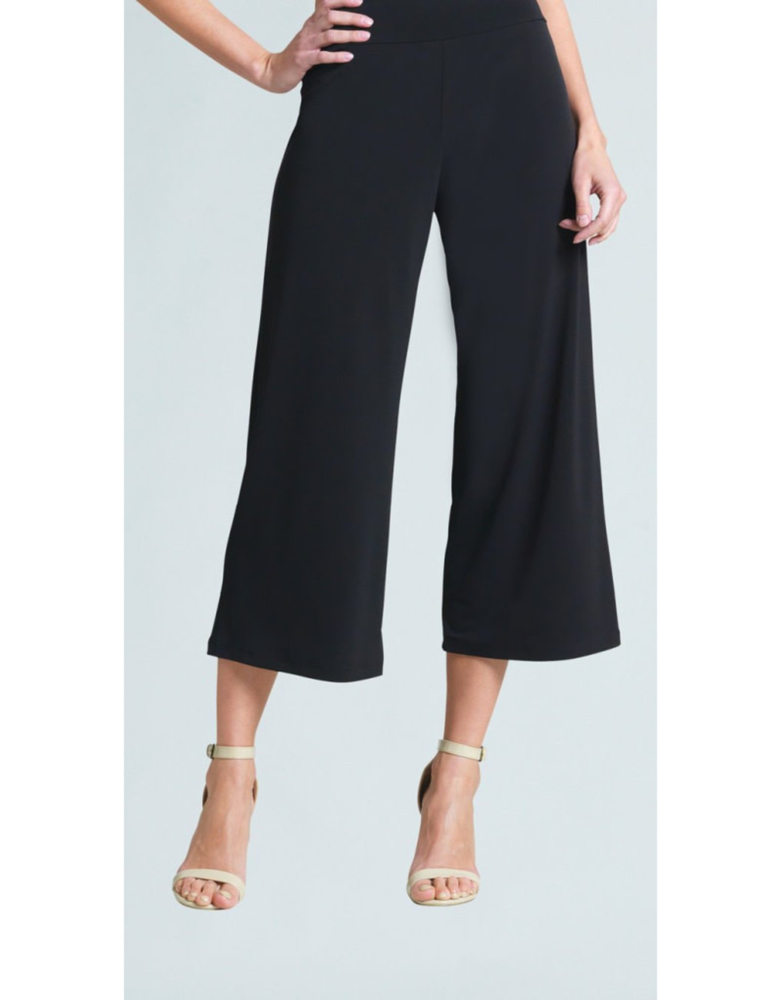 Pull On Cropped Gaucho Pant