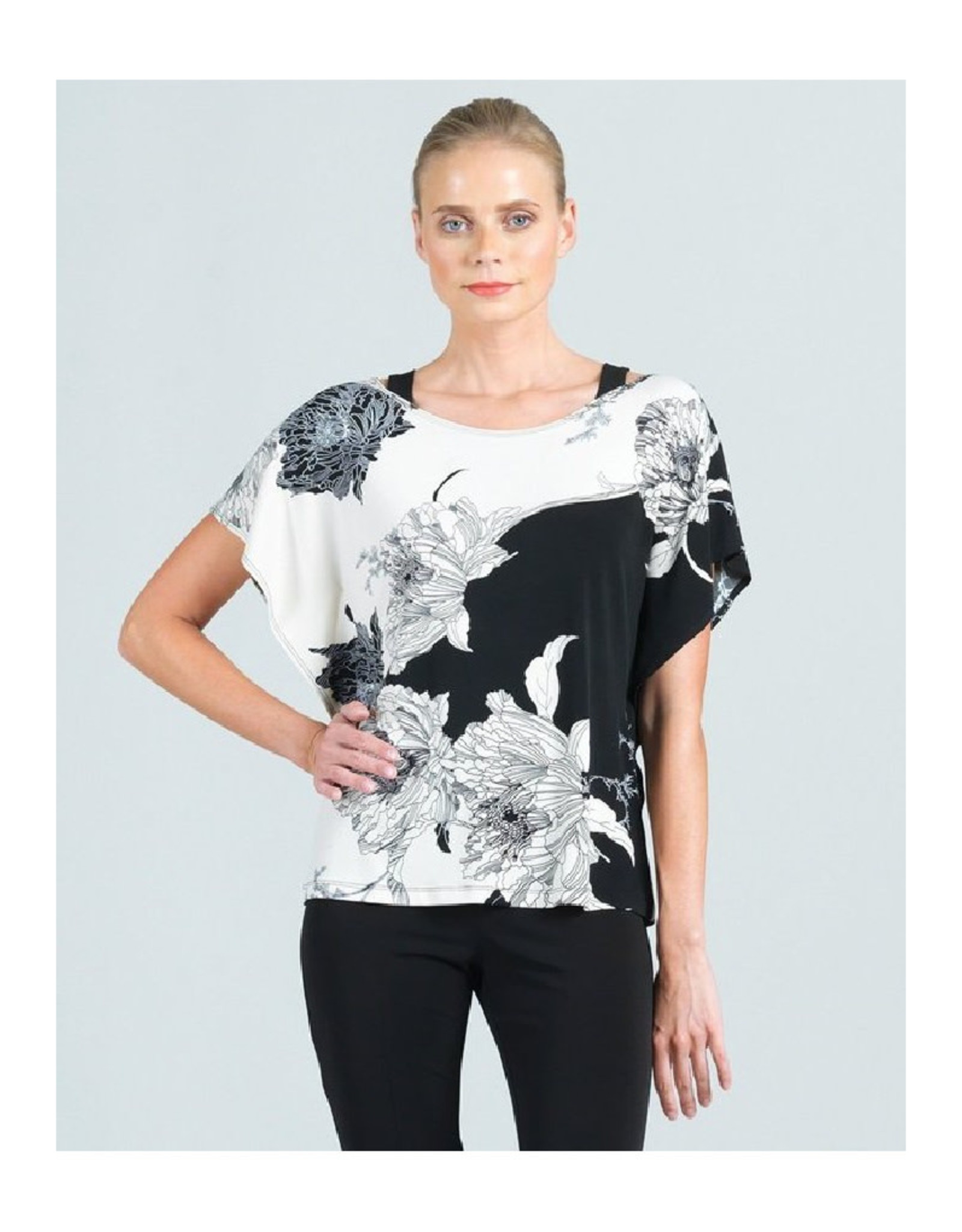 Floral Top with Shoulder Straps