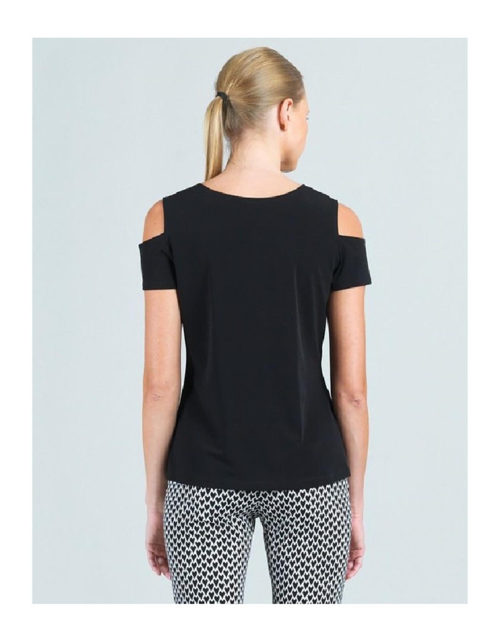 Open Shoulder Scoop Neck Top