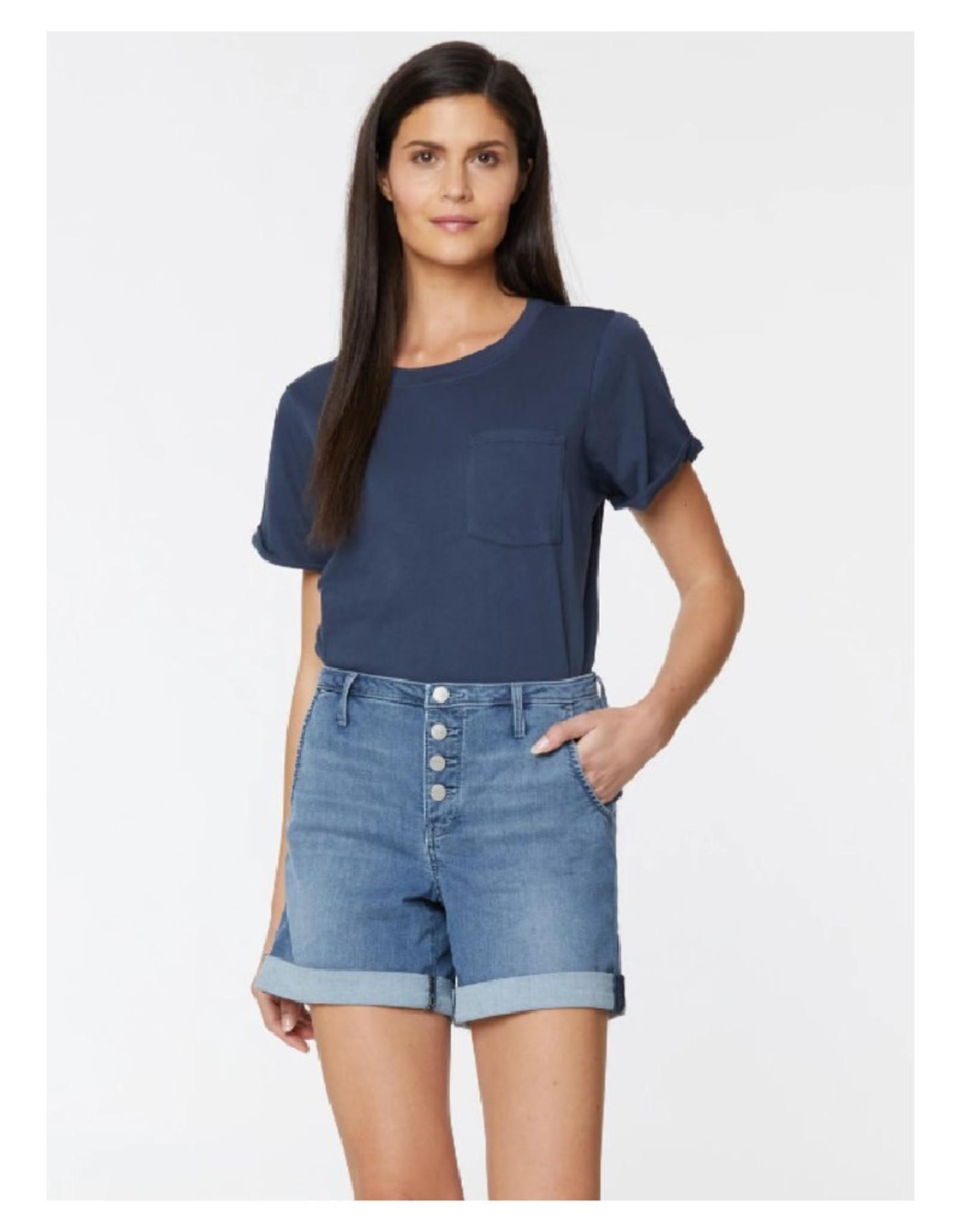 High Rise A-Line Shorts