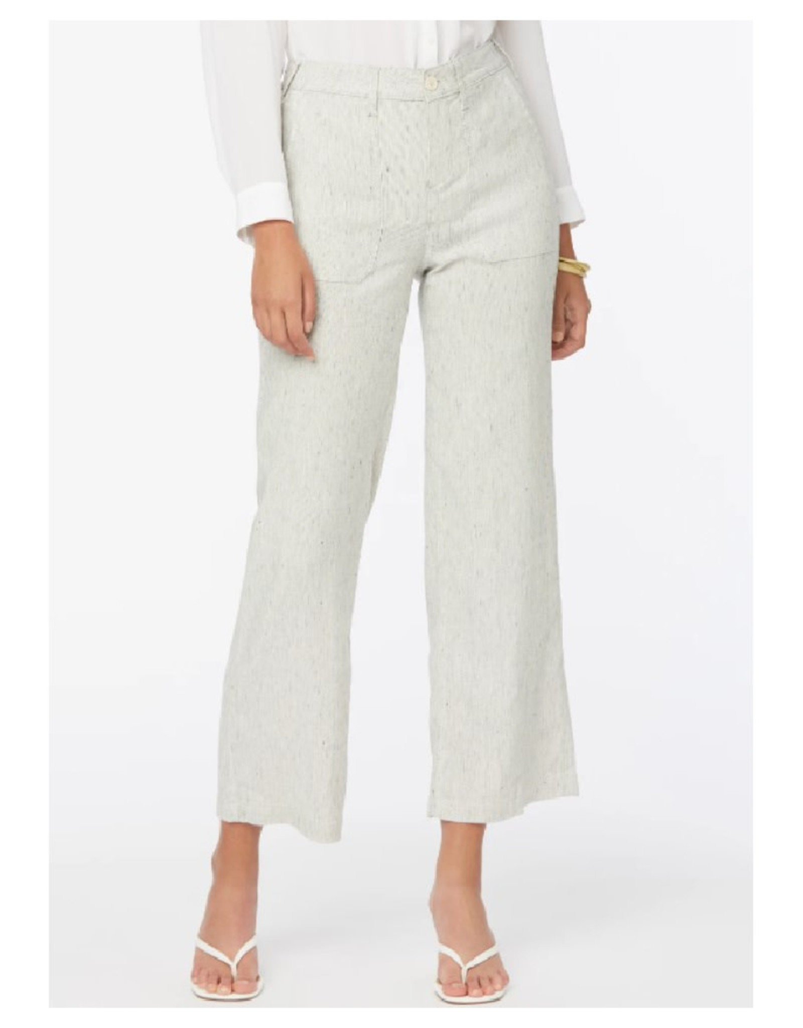 Wide Ankle Linen Pant