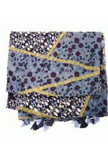 Gypsy Patch Tassel Scarf