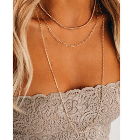 Rose Gold Layer Necklace