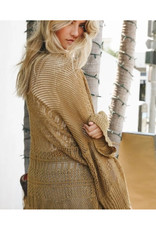 Knitted Net Cardigan