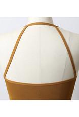 Seamless Cropped Bralette in Mustard