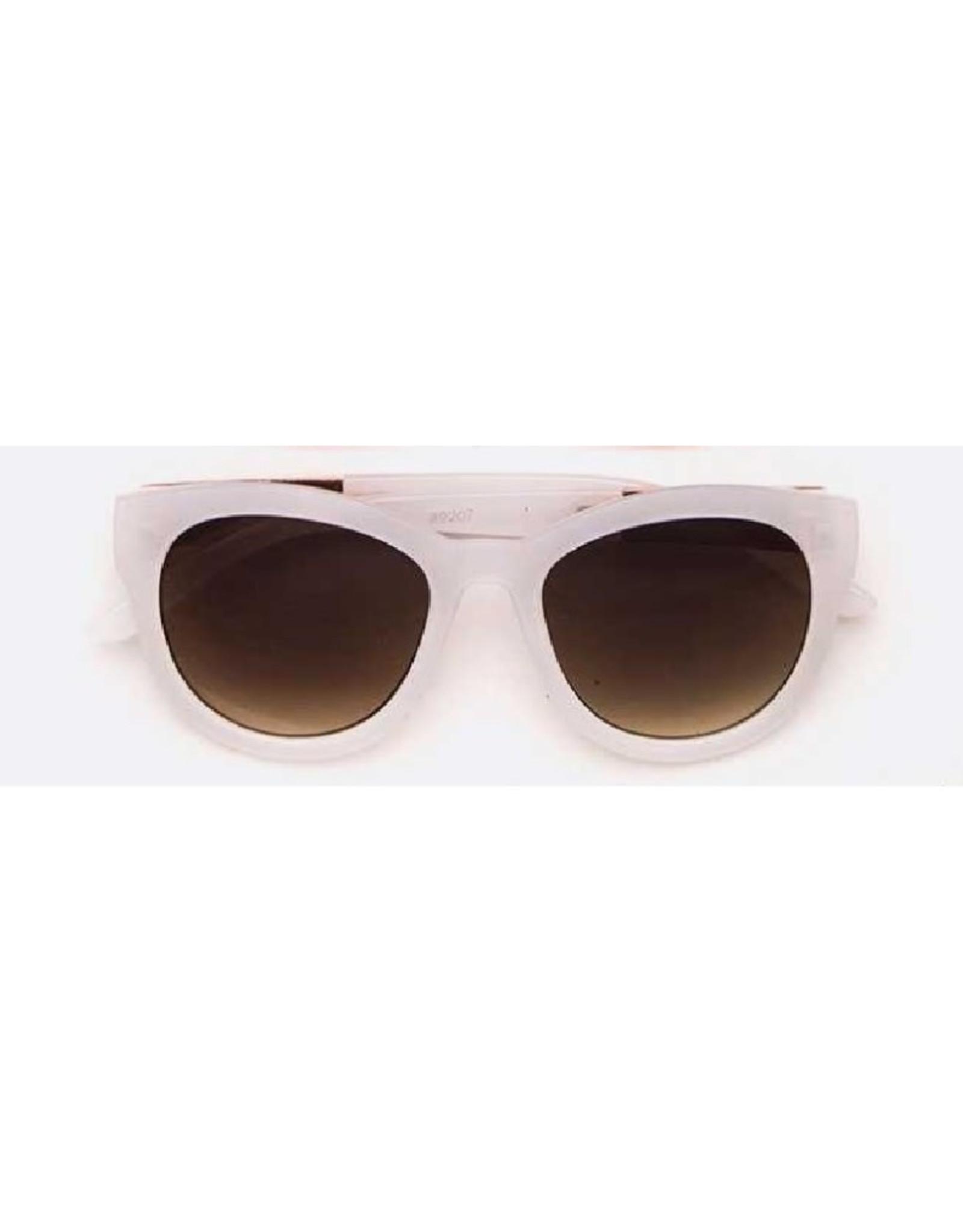 Sunglasses - White Frame