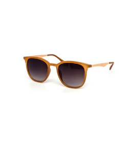 Sunglasses - Light Brown Frames