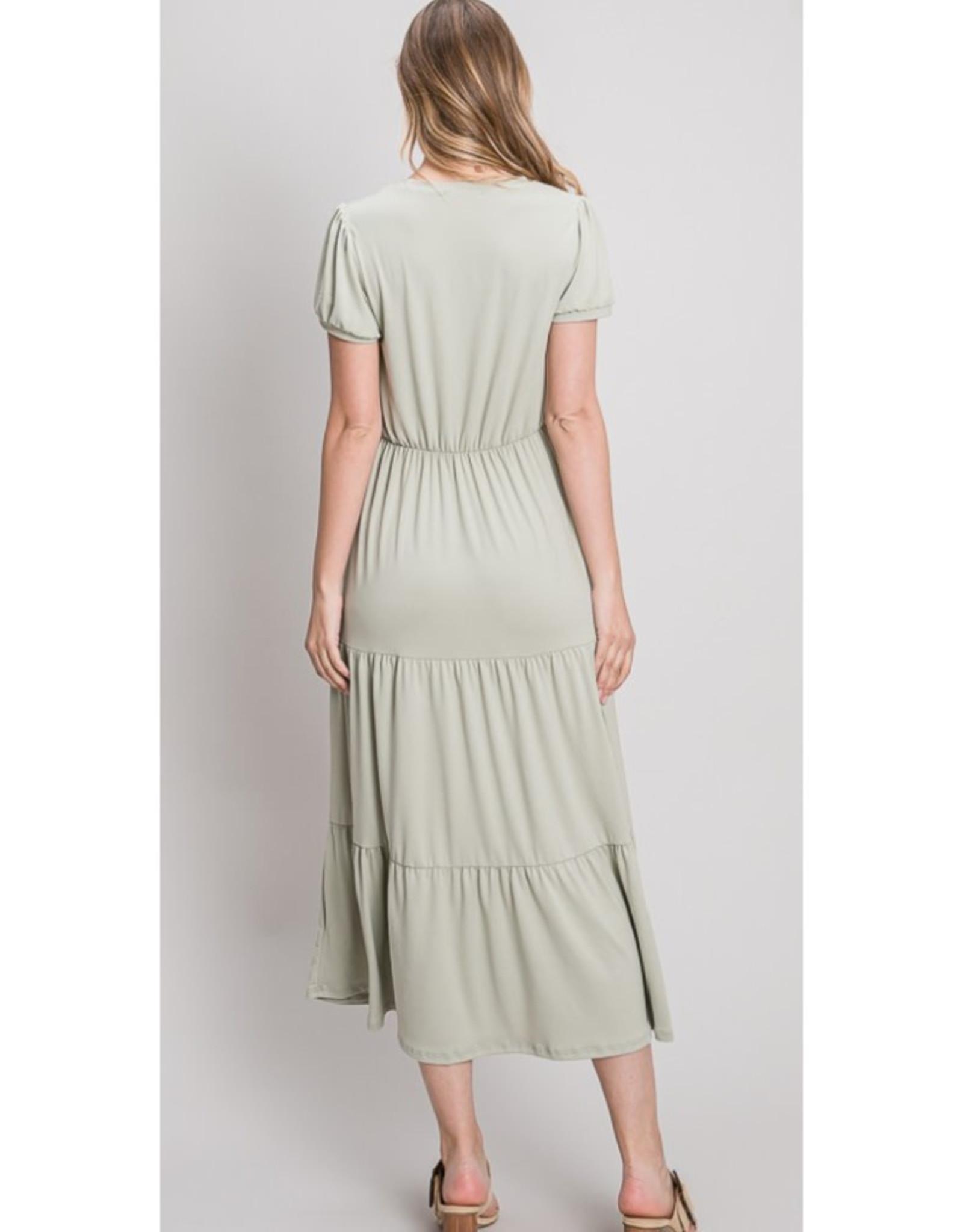 Buttery Soft Midi Dress