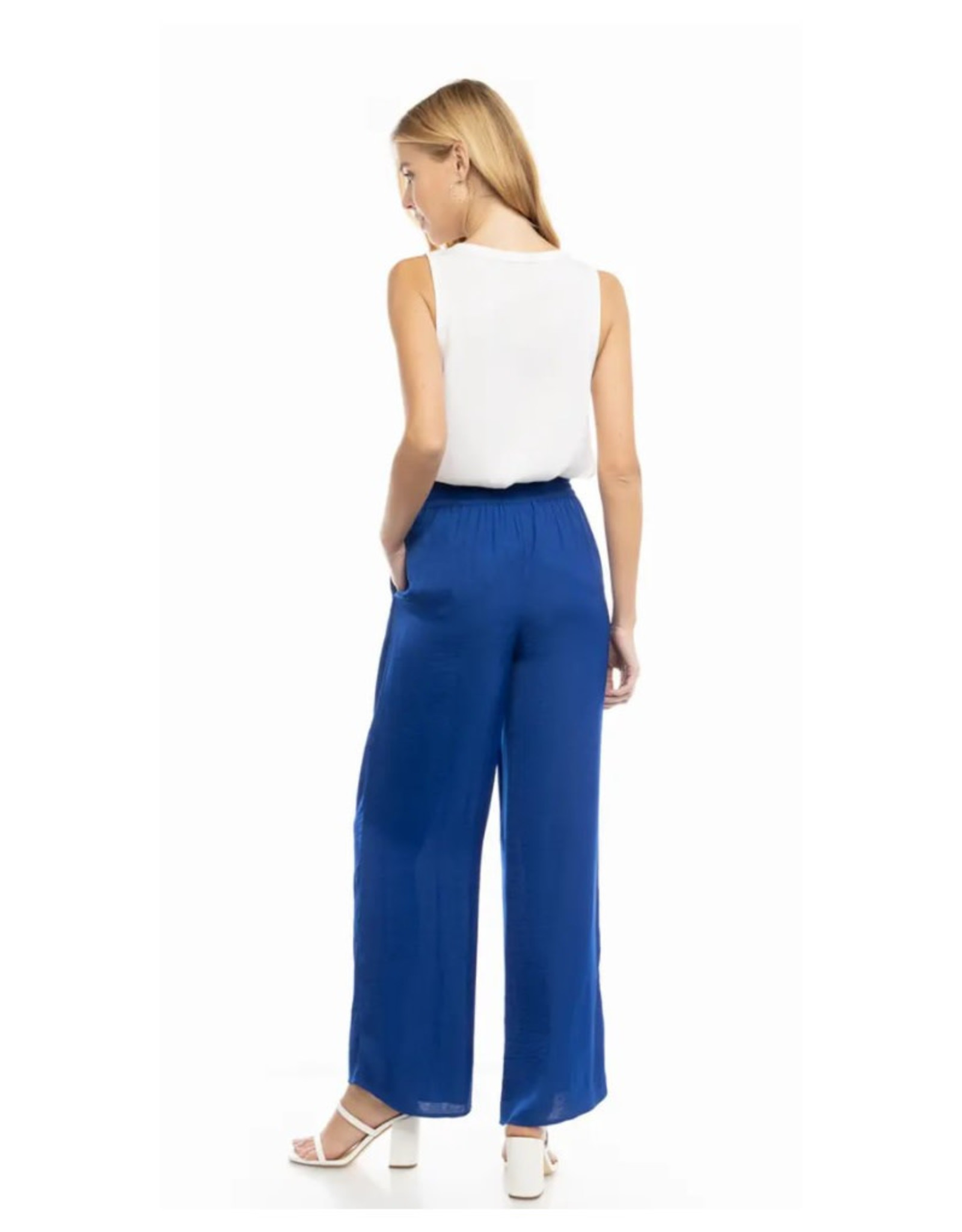 Flowy Elastic Waist Pants