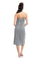 Midi Cami Dress with Side Slit