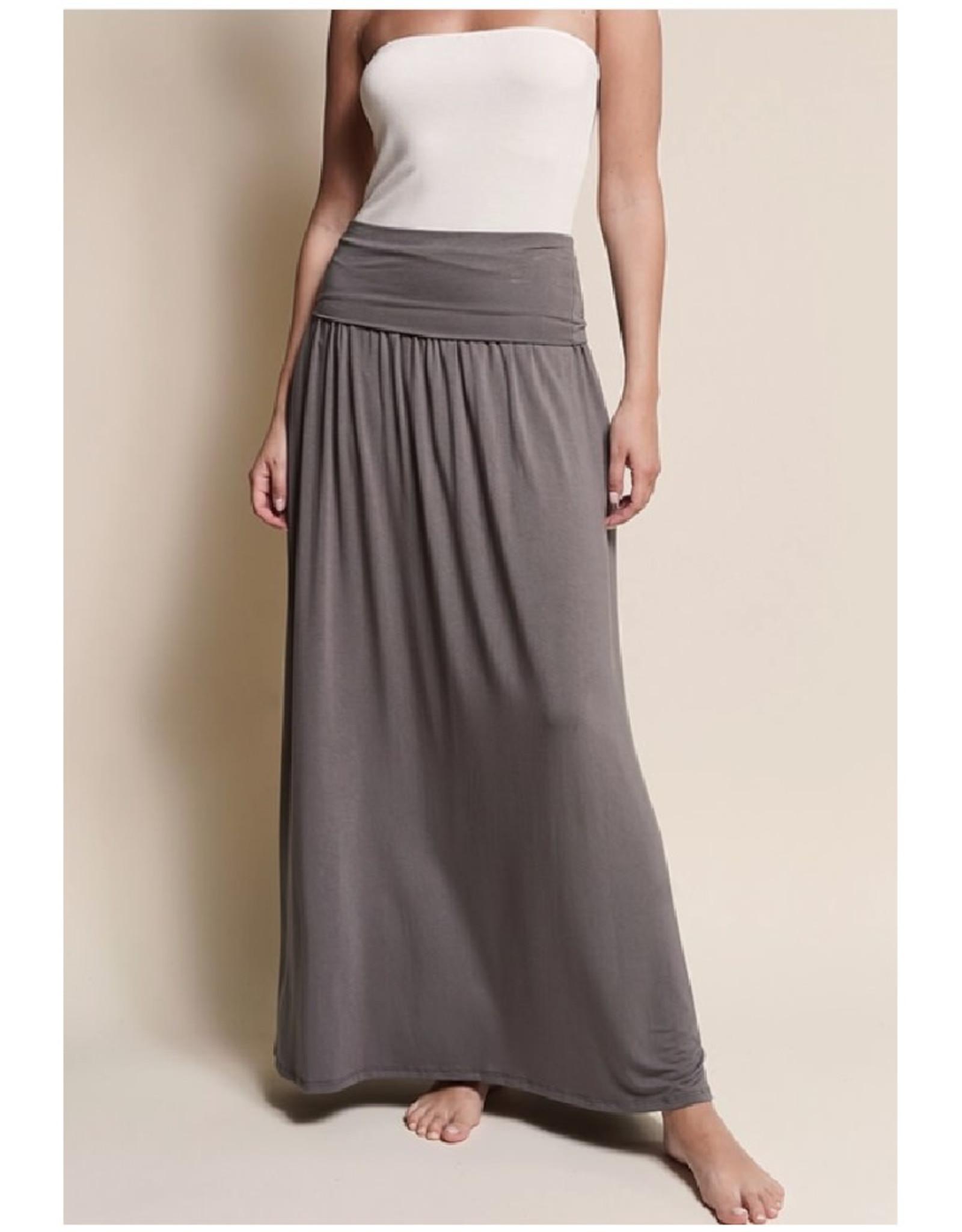 Bamboo Maxi Yoga Skirt