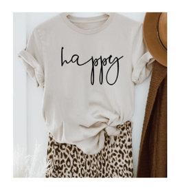 """""""Happy"""" Tee"""