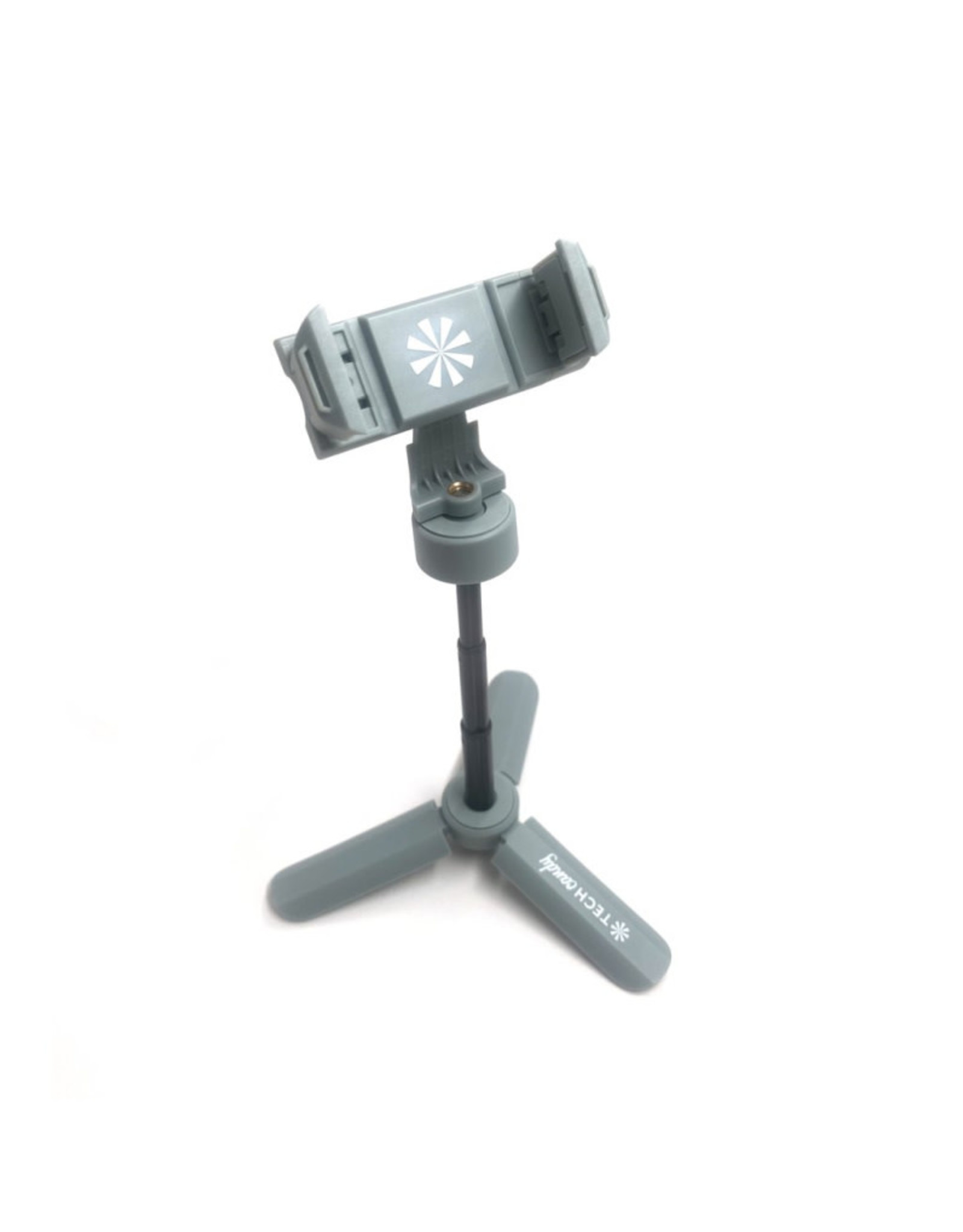 """""""Stand & Deliver"""" Expanding Phone Tripod - Grey"""