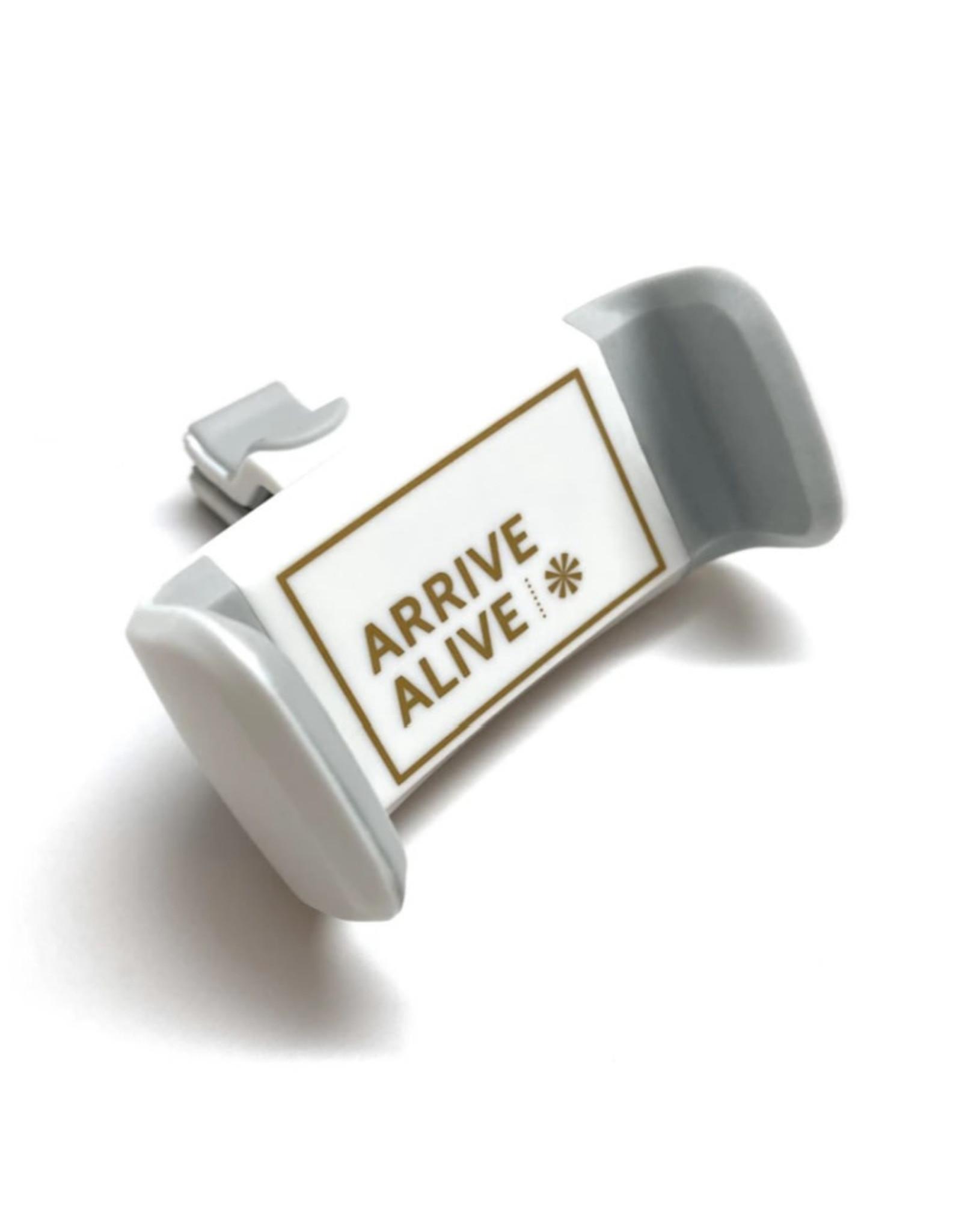 Phone Dash Holder in White