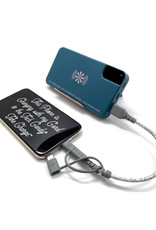 """""""Take Charge"""" Power Bank in Navy"""