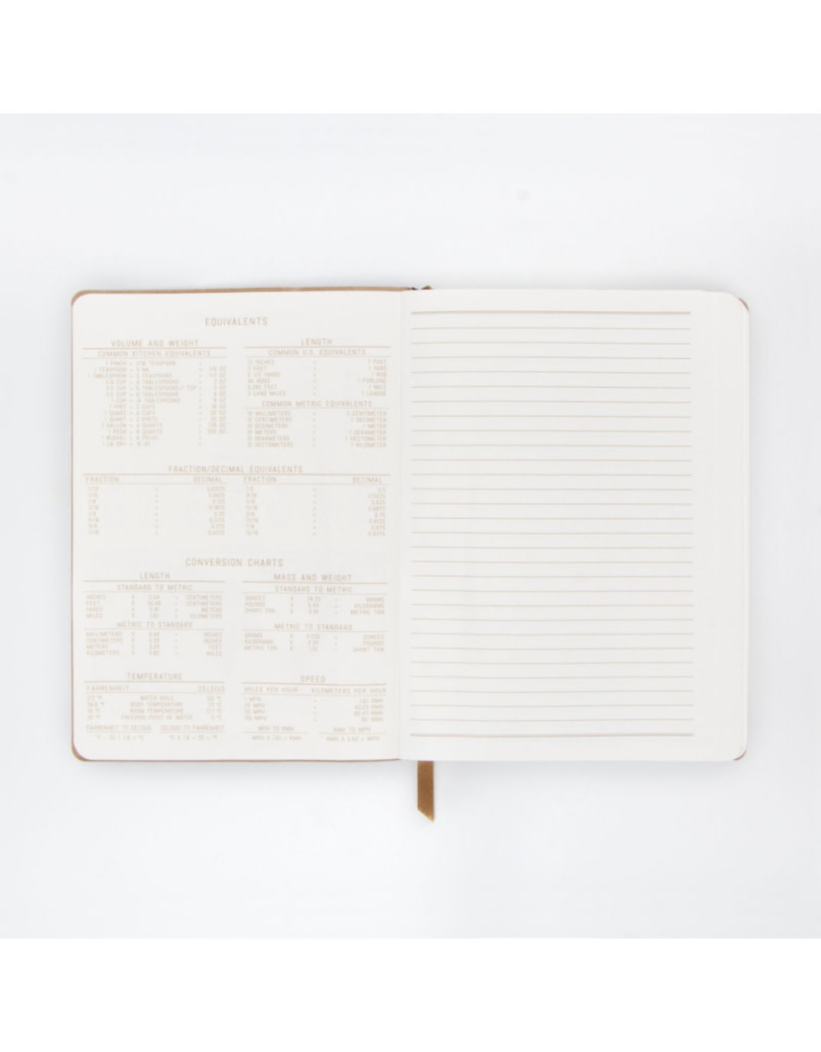 Suede Cover Undated Planner in Mint