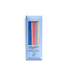 """Mother Knows Best"" Pencil Set"