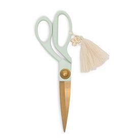 Scissors with Tassel in Mint