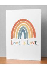 """Love is Love"" Rainbow  Card"