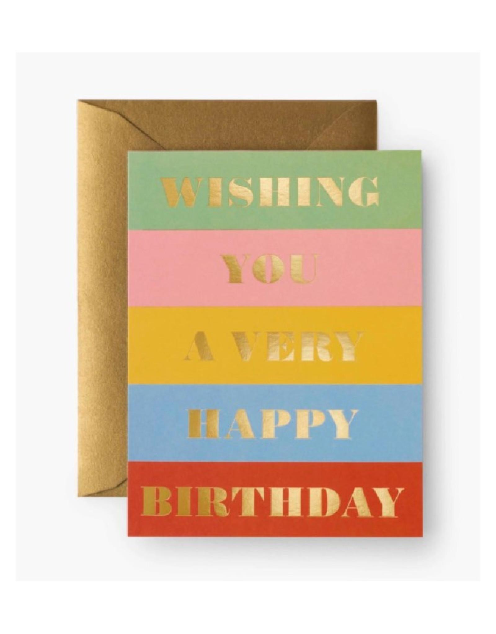 Birthday Wishes Card