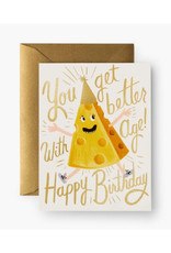 """""""You Get Better With Age"""" Birthday Card"""