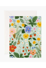 Strawberry Fields Card - Mint