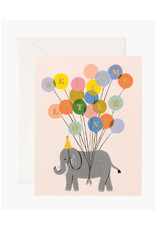 Welcome Little One Card - Elephant