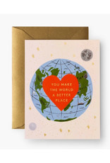 """""""You Make the World Better"""" Card"""