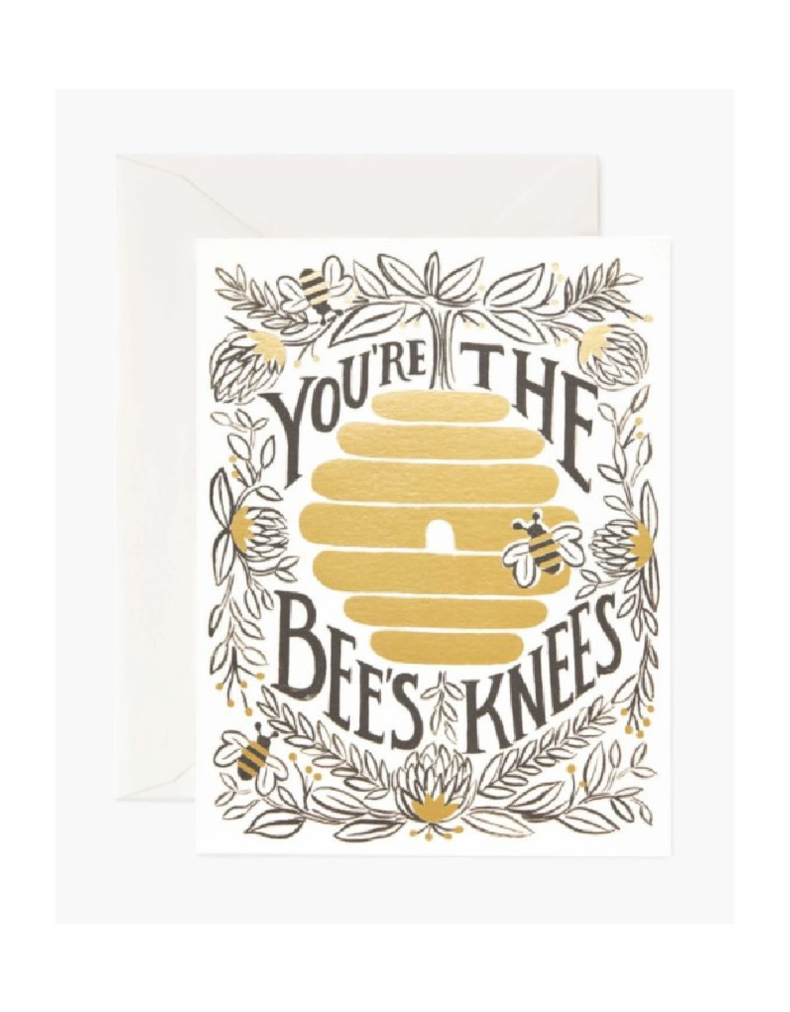 """""""You're the Bee's Knees"""" Card"""