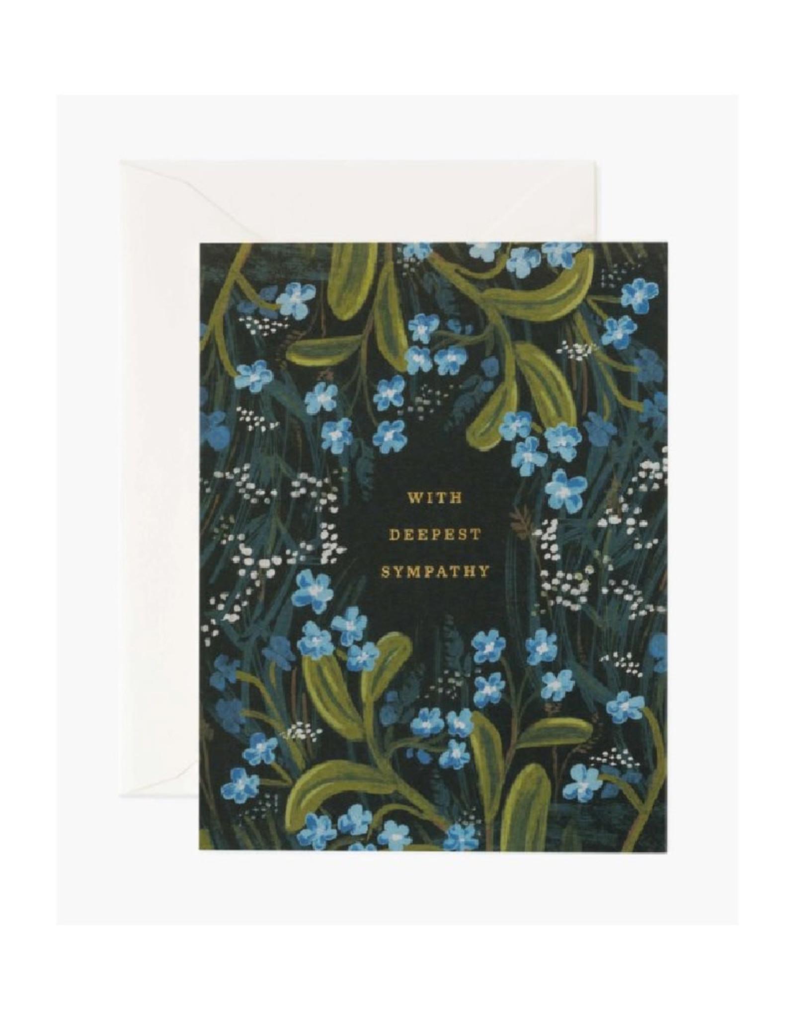 Sympathy Bouquet Card